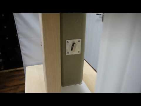 Barn Door Privacy Lock