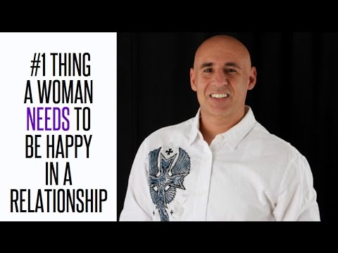 The #1 Thing A Woman Needs to Be Happy In a Relationship
