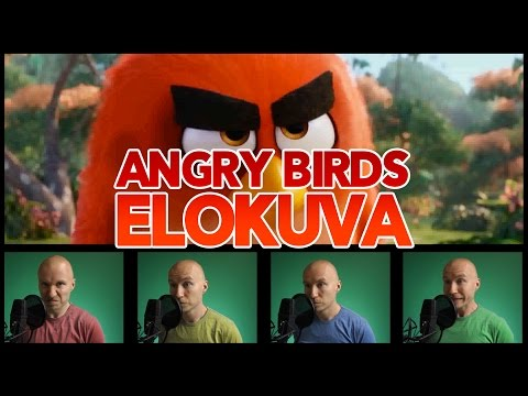 EPIC VOICE OVER - Angry Birds Movie Trailer (IN FINNISH)