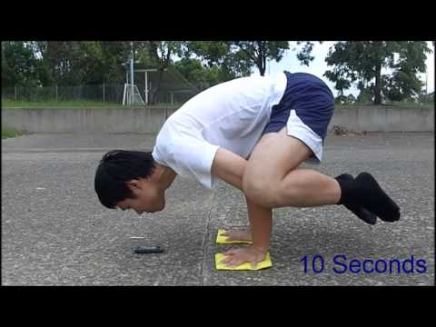 Planche Progression Video 01 - Frog Stand 30 Seconds (Bird Pose / Crow Stand)
