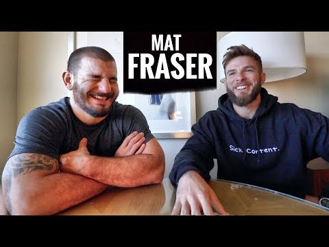 MAT FRASER full interview // Hard Work Pays Off