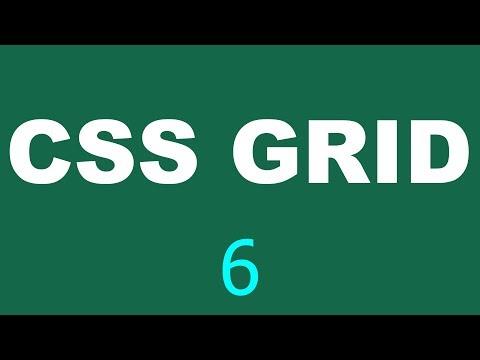 CSS Grid Tutorial - 6 - Column shortcut