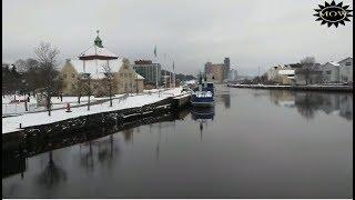 Uddevalla Sweden View In Winter