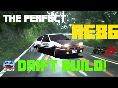 The Perfect AE86 Drift Build! [CarX Demo Tuning] Initial D Style!