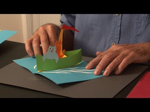 Pop-Up Tutorial 32 - Pop-Up Boat - Birthday Card