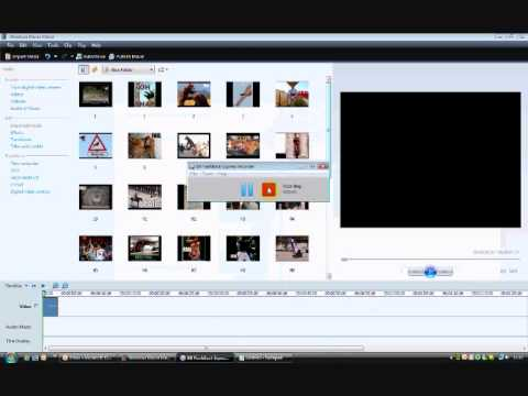 How to change a movie maker file to avi (fullscreen)