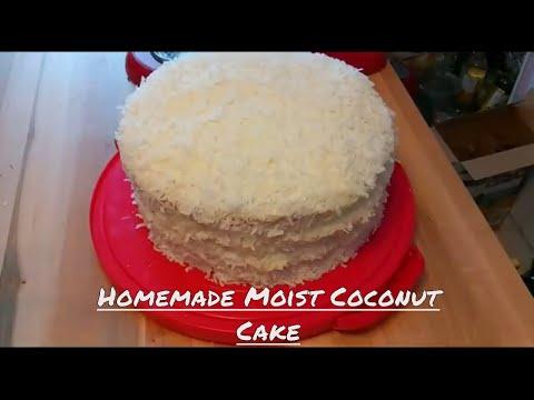 The Best Coconut Cake Recipe (w/Coconut Milk) Kiwanna's Kitchen