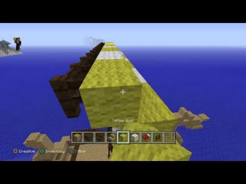 Minecraft: how to build a viking longboat