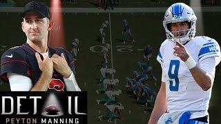 Peyton Manning Analyzes Matt Stafford