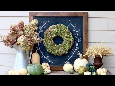 How To Create A Hydrangea Wreath