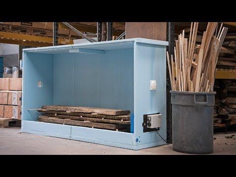 Logosol Sauno Wood Drying Kiln -  How to build and set up