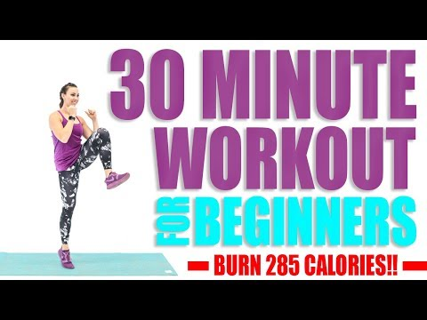 30 Minute Workout For Beginners 🔥Burn 285 Calories! 🔥