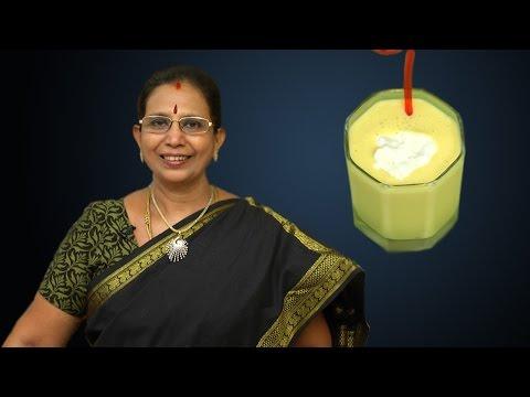 Mango Milkshake   Mallika Badrinath Recipes   Juice