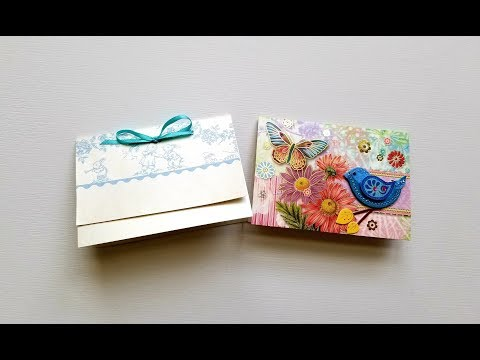 PassBooks Made from Greeting Cards