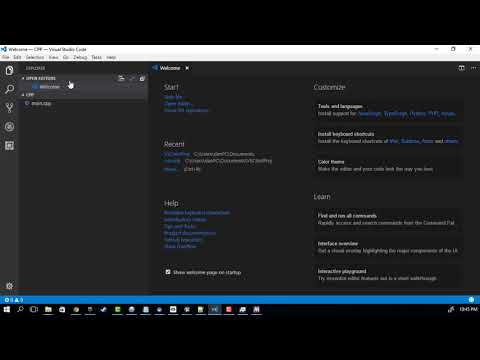 GCC & clang on windows with Visual Studio Code + bash terminal + debugging!