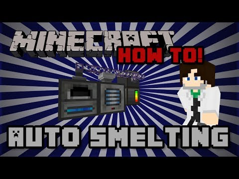 How To! Auto Smelting with Applied Energistics