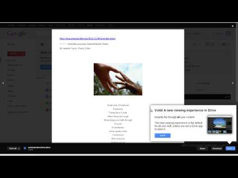 How to Embed Google Docs in Google Sites - Video #11 of the MCT Digital Portfolio Series