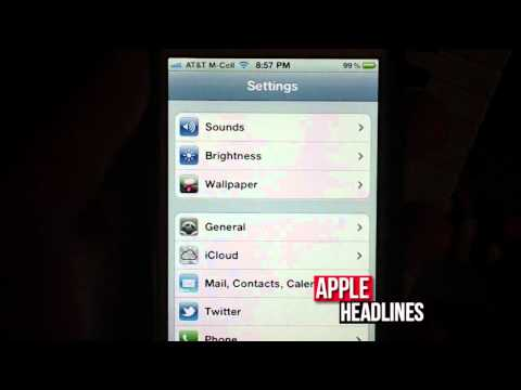 Where to find the serial number and IMEI number in iOS 5 using an iPhone 4S