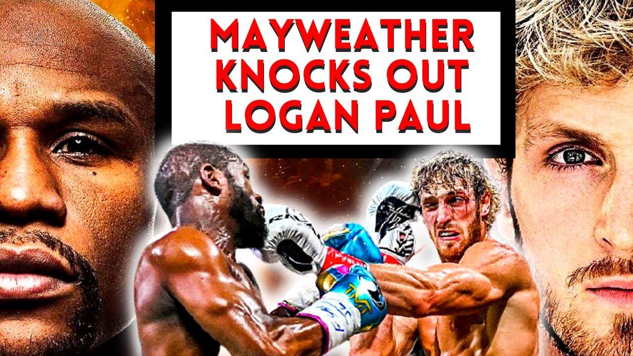 Mayweather Accidently KNOCKED OUT Logan Paul 😱 #shorts #loganpaul #mayweather