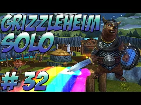 Wizard101 Solo Walkthrough - Grizzleheim - Part 32 Savarstaad Pass and Vigrid Roughland