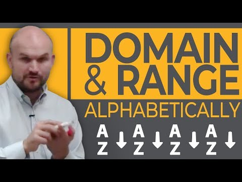 Pre-Calculus - BEST explanation how to determine domain algebraically,