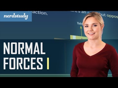 Intro to Normal Forces | Part 1 - Nerdstudy Physics