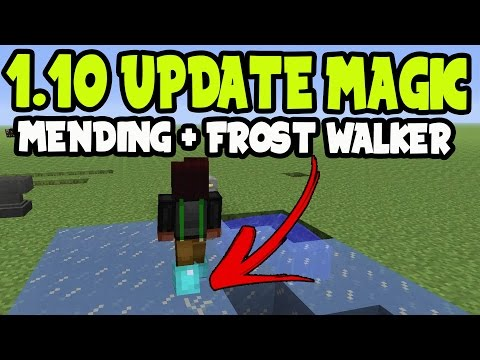 MAGIC! Minecraft PS3, PS4, Xbox360 - FROST WALKER + MENDING! (TITLE UPDATE TU43)