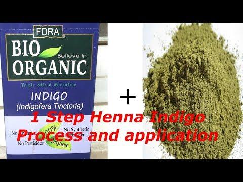 1 Step Henna Indigo | Henna Indigo Hair Dye | Henna Indigo One Step | Indigo Henna Hair Dye