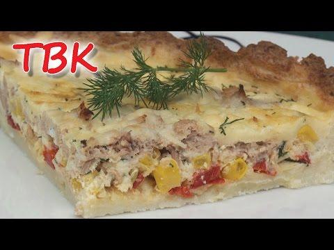 Tuna, Red Pepper and Potato Quiche (Gluten Free) - Titli's Busy Kitchen