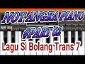 Not Angka Sibolang Trans7