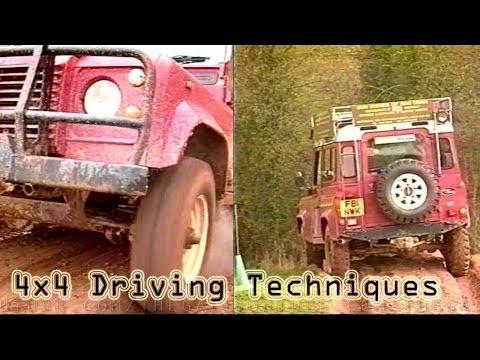 4x4 DRIVING TECHNIQUES