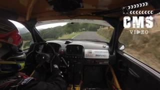 On Board Gerard de la casa  Seat Córdoba WRC -Subida a Castrillón 2016