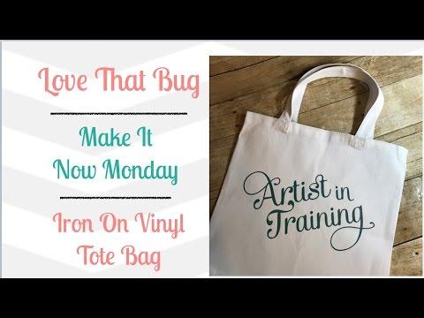 Cricut Explore   Iron On Vinyl   Tote Bag