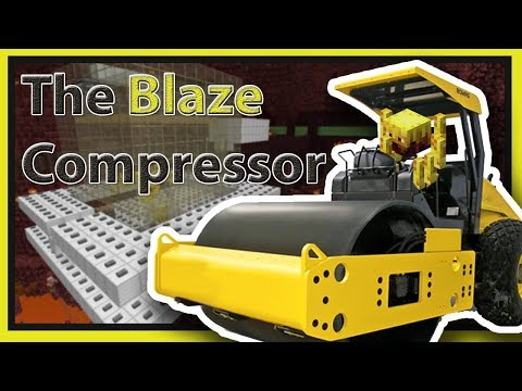The Blaze Compressor: AFK XP + Blaze Rod Farm! | Minecraft 1.12+