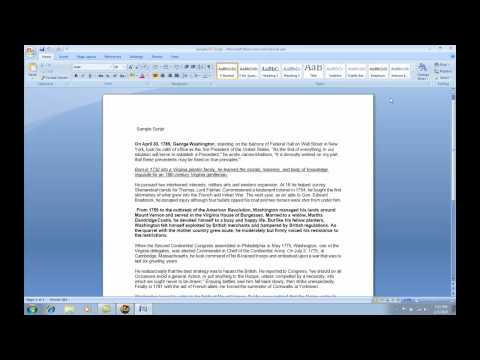 How to import MS word Documents