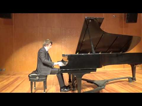 F. Chopin Etude in E minor, Op. 25 No. 5  (Josh Wright)