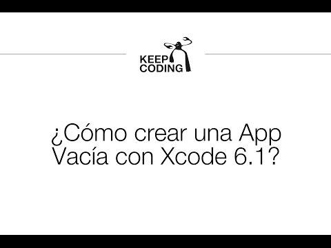 Preguntas KeepCoding - ¿Cómo crear una App Vacía con Xcode 6.1?