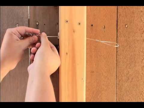 NTI: How to fix a gate latch