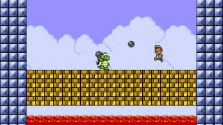 Super Mario Bros  X (SMBX) - Boss Rush playthrough - PakVim