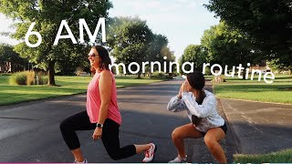 copying my moms 6am morning routine