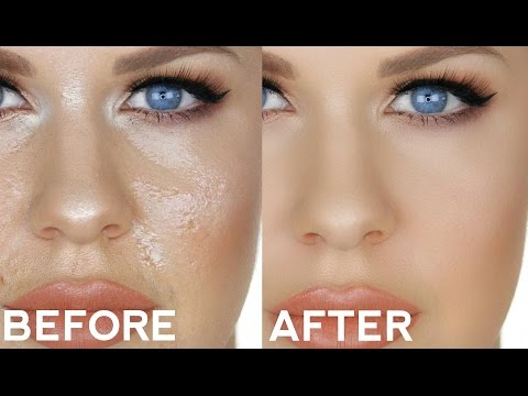 HOW TO FIX / TOUCH UP OILY FOUNDATION!! | SIMPLE TRICK FOR PERFECT ALL DAY MAKEUP!!