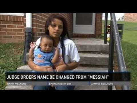 TN judge orders that infant's name be changed from Messiah to Martin
