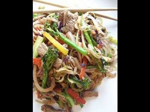 Sweet Chilli Beef Stir Fry