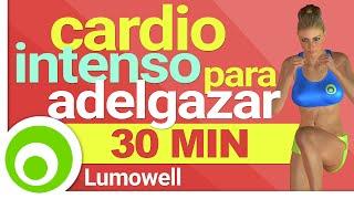 Cardio intenso para bajar de peso en casa
