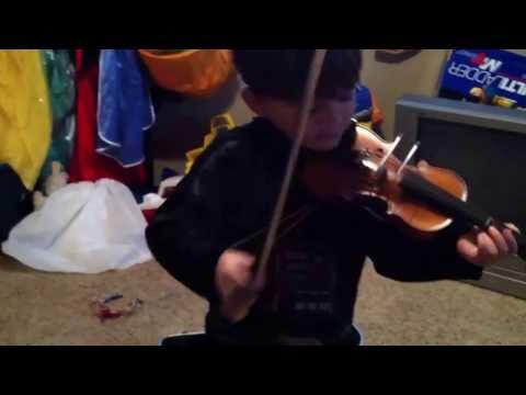 Straight bow practice
