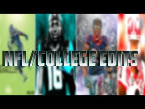 NFL/College Football Edits - Instagram: fcsportsnetwork