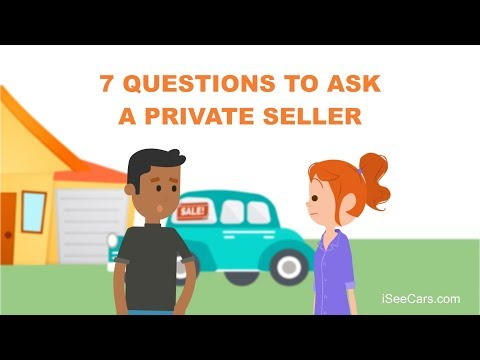 7 Questions to Ask Before Buying a Used Car from a Private Owner