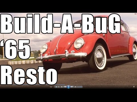 Classic VW BuGs 1965 Build A BuG Restoration Ruby Red Beetle Project Finished