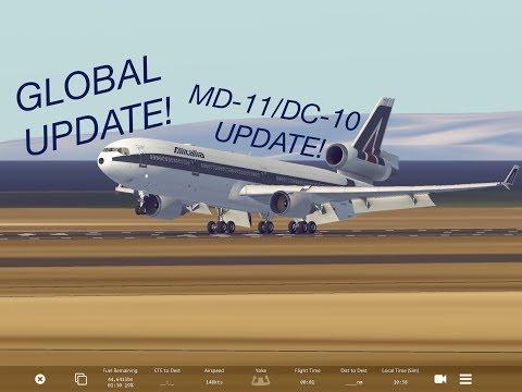 Infinite Flight - Global release + MD-11/DC-10 Update
