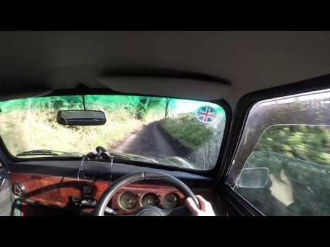 Classic mini cooper drive